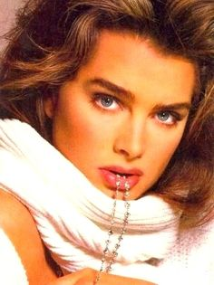Vogue US December 1987. Brooke photographed by Richard Avedon for the cover.