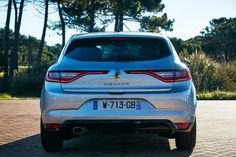 2016 Renault Megane IV - ready to fight with the Germans? Renault Megane, Rear View, Engineering, Car, Automobile, Vehicles, Mechanical Engineering, Technology, Cars