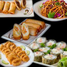 Combo Quente - 12 hots + 1 yakisoba (frango, carne ou legumes) + 1 porção de harumaki doce (à escolha) + 1 porção de harumaki salgado (salmão ou legumes) + 1 porção de lula à doré   Hot Crocante + R$1 por porção em qualquer combo. Camarão + R$2 por porção em qualquer combo.   Todos os combos no Sushi e Sashimi deverão ser no mínimo meio a meio. O cliente deverá optar por 2 sabores. Sushi Rão, o Maior Delivery de Sushi do Rio de Janeiro!