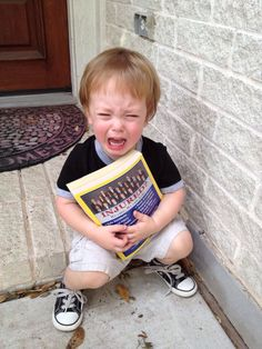 """He caught me trying to recycle the phone book."" Submitted By: Shannon N. Location: Texas, United States"