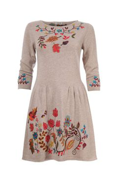 Dress Forest Motifs - Dress | Ivko Woman