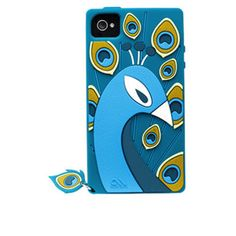 Olo Case-Mate iPhone 4/4S Olo Creatures -Peacock/Teal #ArtsCase