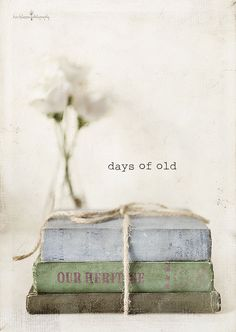 I love vintage books!!  Aline ♥
