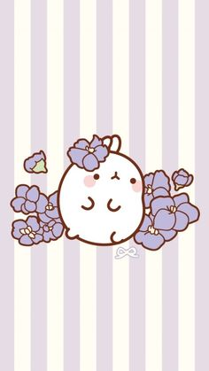 Molang 💜 i love it ♥ in 2019 cute lockscreens, kawaii drawin Chibi Kawaii, Kawaii Doodles, Kawaii Art, Kawaii Wallpaper, Disney Wallpaper, Cute Lockscreens, Hd Wallpaper Android, Cute Kawaii Drawings, Molang