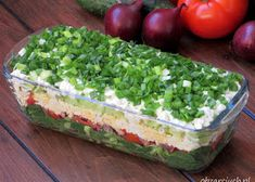Slow Food, Guacamole, Salad Recipes, Lunch Box, Food And Drink, Menu, Cheese, Ethnic Recipes, Per Diem