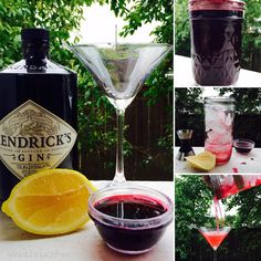 Aronia Gin Cocktail - yum!