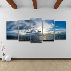 Chris Doherty 'Sunset' 5-piece Canvas Art Set | Overstock.com Shopping - Top Rated Ready2hangart Canvas