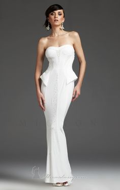 Dress by Mignon VM970 by The White Collection by Mignon