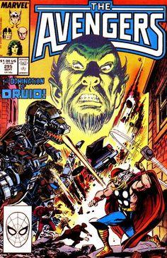 Avengers # 295 by John Buscema & Tom Palmer