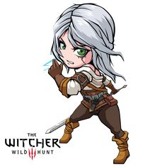 Fan Art Triss Merigold from thw Witcher 3 WIld Hunt : 3 i luv triss, she is so kind btw funny thing happened when im working on triss i accidentally del. Witcher 3 Art, The Witcher Game, The Witcher Books, Witcher 3 Wild Hunt, Overwatch, Chibi, Triss Merigold, Playstation, Art Folder