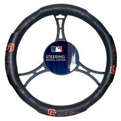 The Northwest Company, LLC MLB Leather Steering Wheel Cover - San Francisco Giants