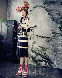 봄을 기다리는 아가씨들 :: VOGUE.com