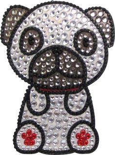 Love Your Breed Rhinestone Sticker Pug -- Check out this great product.(This is an Amazon affiliate link)