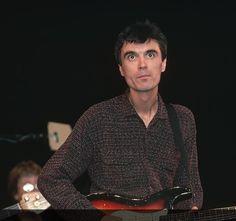 David Byrne performing in concert. November 01, 1980