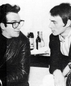 Paul Weller and Elvis Costello Music Icon, My Music, The Style Council, Wave Rock, Paul Weller, Pete Townshend, Elvis Costello, Rock News, Punk Art
