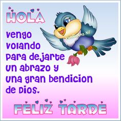 Feliz Tarde Happy Wishes, Happy Birthday Wishes, Good Afternoon, Good Morning Good Night, Spanish Greetings, Amor Quotes, Morning Thoughts, God Prayer, Night Quotes