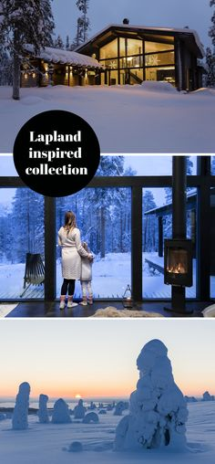 Be enchanted by beautiful scenery, marvel the changing seasons and get away from the buzz of city life to the calm of the countryside. These dreams are the ingredients of Honka's new Lapland inspired designs. How To Build A Log Cabin, Duplex House, One With Nature, Sustainable Development, Log Cabins, Beautiful Scenery, Open Up, City Life, Scandinavian Style