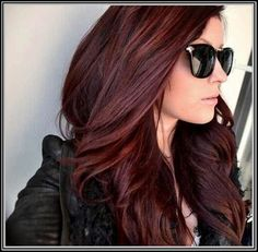 Download Dark Auburn Hair Color With Highlights