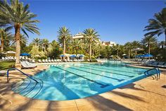 JW Marriott Las Vegas Resort Pool! OMG!!!!!