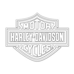 Harley-davidson Logo Cutz Rear Window Decal, Size: One size, White Harley Davidson Decals, Harley Davidson Posters, Harley Davidson Tattoos, Free Adult Coloring, Adult Coloring Book Pages, Coloring Books, Rear Window Decals, Arte Linear, Biker Tattoos