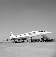 Concorde at Dallas/Ft. Worth Airport, 1970s