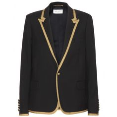 Saint Laurent - Blazer en laine
