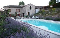 Tarn Farmhouse Rentals in France | Restored 1840s farmhouse in rural France #france #farmhouse #holiday #swimmingpool #frenchfarmhouse