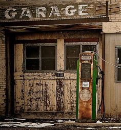 Your local service station always had a garage....