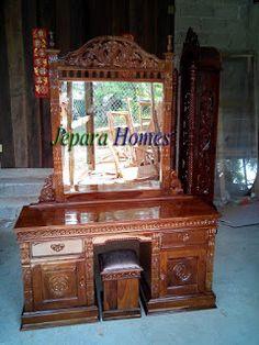 Toko Furniture Grosir: Tolet Rahwana Jati Jepara