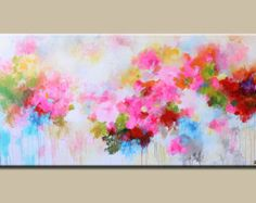 abstract flower painting - Google Search