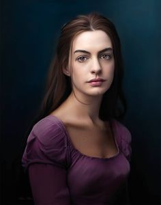 Anne Hathaway by Ebn Misr-This is NOT a photograph