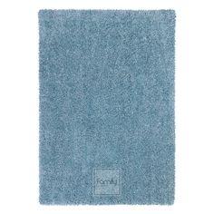 Dywan Komfort Shaggy  Niebieski błękit