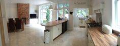 Cream kitchen diner