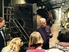 A behind the scenes tour of the engine sheds at Weybourne Station in North Norfolk.