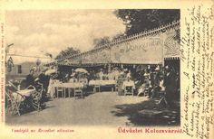 Old terase in Cluj/Kolozsvar Homeland, Romania, 19th Century, Louvre, Restaurant, Country, Building, Travel, Viajes