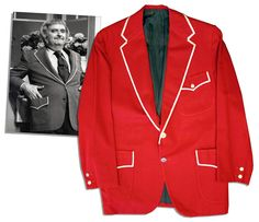 Lot Detail - Iconic Captain Kangaroo Screen-worn Red Jacket From Its Debut in 1971 Bob Keeshan, Kangaroo Costume, Captain Kangaroo, Oh Captain My Captain, Navy Blue Suit, Old Tv Shows, Vintage Tv, My Childhood Memories, Theatre