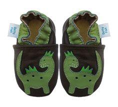 Acogedoras y suaves zapatos de cuero para bebé niño con suela de gamuza Dotty Fish Diseño De Dinosaurio – 6-12 Meses – Verde Y Café Ver más http://bebe.deskuentos.es/comprar/zapatos/acogedoras-y-suaves-zapatos-de-cuero-para-bebe-nino-con-suela-de-gamuza-dotty-fish-diseno-de-dinosaurio-6-12-meses-verde-y-cafe/