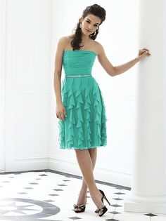 After Six Bridesmaid Style 6649 http://www.dessy.com/dresses/bridesmaid/6649/?color=celadon&colorid=10#.UsleOYNE3Fo