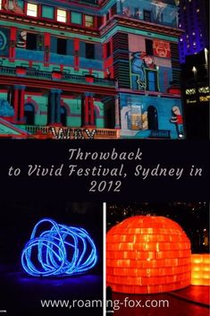 Throwback to Vivid Festival, Sydney in 2012 — Roaming Fox   Travel Blogger and Writer, South Africa Sydney Australia, Australia Travel, Interactive Projection, Stuff To Do, Things To Do, New Zealand Travel, Festival Lights, Day Trips, South Africa