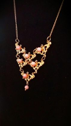 Handmade small bib necklace by SophiaEmmeline on Etsy, $18.00