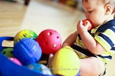 Sensory basket of balls!