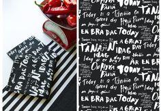 Tänään on hyvä päivä |Designed by Niina Aalto for Finnish Eurokangas. Pictures: Eurokangas Aalto, Scandinavian, Textiles, Patterns, Studio, Prints, Inspiration, Design, Block Prints