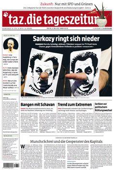 Pinocchio #Sarkozy