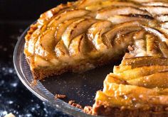 With the holidays upon us, I decided to challenge myself to baking something different. I was looking through the latest issue of Cook's Illustrated and I came across a beautiful French apple tart.  The apple slices arranged in the shape of a beautiful blooming flour. At first glance, I thought to myself, this looks complicated.     A few hours later, I was looking in my fridge when my large bag of pears stared back at me demanding action. I decided that I'll just go ahead and try my hands…
