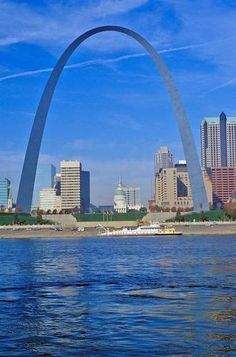 St. Louis Arch, yep, went up in that arch and that's when I realized I can't take small dark spaces..yikes!
