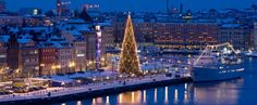 Stockholm, Sweden in the winter.  Yes please.