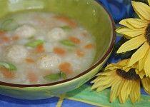 Květáková polévka s knedlíčky Cheeseburger Chowder, Soup, Cooking, Kitchen, Soups, Brewing, Cuisine, Cook