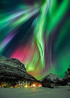 "Aurora, Norway | by Wayne Pinkston (""Before I die id like to see something magical like this"" by David: Thx!)"