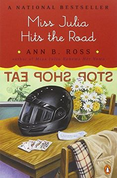 Miss Julia Hits the Road (Southern Comedy of Manners) by Ann B. Ross http://www.amazon.com/dp/0142004049/ref=cm_sw_r_pi_dp_pkGvvb06HFCCB