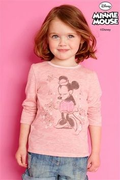Buy Pink Sparkle Minnie Mouse™ Top (3mths-6yrs) from the Next UK online shop